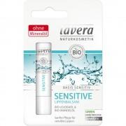 Balsam de buze sensitiv cu jojoba & migdale Lavera