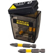 "Stanley Sta62610 Set Inserti Per Avvitatore Assortiti Ph 1. 2. 3 X 50 Mm Esagonale 1/4"" - Sta62610"
