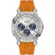 Ceas barbatesc GUESS TURBO W0966G1 Silver-Orange
