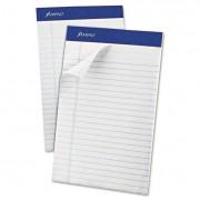 Recycled Writing Pads, Jr. Legal/margin Rule, 5 X 8, White, 50 Sheets, Dozen