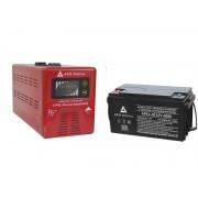 Zestaw zasilania awaryjnego Sinus-500PRO 500W + AKU 60Ah 12V VRLA AGM