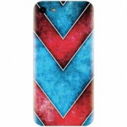 Husa silicon pentru Apple Iphone 5 / 5S / SE Blue And Red Abstract