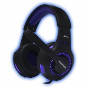 Auriculares Gamer Pc Y Ps4 Kolke Spartan Azul Gaming Led Usb