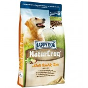 Hrana caini Happy Dog NaturCroq Adult Rind & Reis 15 kg