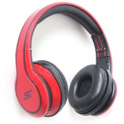 Gizmobitz Audio Ear Headphone SMS 006 With Mic- Red