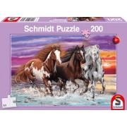 999 Games Trio wilde paarden - Puzzel (200)