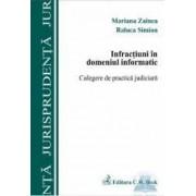 Infractiuni in domeniul informatic - Mariana Zainea Raluca Simion