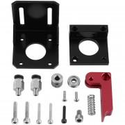 ER Versión Avanzada Accesorios Para Impresoras 3D MK8 De Aleación De Aluminio De La Extrusora Bowden -Negro Y Rosa Roja