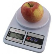 True Shop SF-400 10kg/1g Electronic Kitchen Weighing Scale(White)