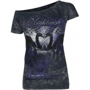 Nightwish Come Cover Me Damen-T-Shirt - Offizielles Merchandise S, M, L, XL, XXL Damen