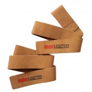 Budo & Fitness Lifting Straps Leather