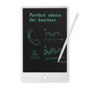 Tableta digitala 10 inch pentru scris si desenat cu ecran LCD, alb
