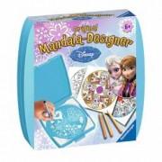 Set de creatie pentru fete Mini Mandala Frozen Ravensburger