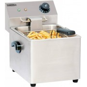 Casselin Friteuse Inox 4 Litres 2kW 220x400x(H)315mm