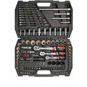 YATO Zestaw narzędziowy XL 1/4, 1/2, 3/8 120 cz.