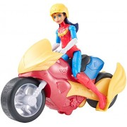 DC Super Hero Girls Wonder Woman Action Figure with Motorcycle