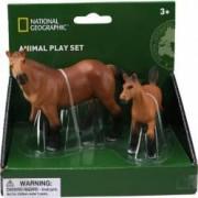 Set 2 figurine National Geographic Cal si manz