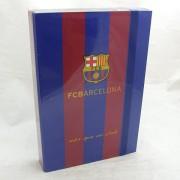 Barcelona füzetbox - A4 -kék-bordó