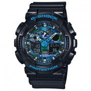 Casio G-SHOCK Standard Analog-Digital Montre GA-100CB-1A - Noir