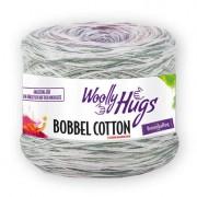 Woolly Hugs Bobbel Cotton von Woolly Hugs, Color/Weiß/Lila/Fuchsia/Bleu/Hellgrau