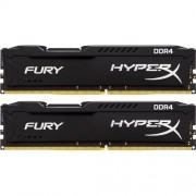 16GB 3200MHz DDR4 CL18 HyperX FURY Black, 2x 8GB