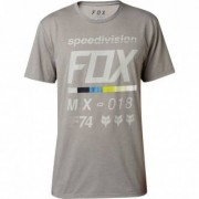 FOX Camiseta Fox Draftr Tech Heather Dark Grey