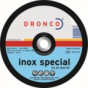 Disc 230 mm debitat inox special AS 30