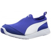 Puma Unisex St Trainer Evo Slip-On Surf The Web and White Sneakers - 8 UK/India (42 EU)
