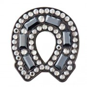 Bonjoc Ladies Horse Shoe Black Ball Markers【ゴルフ レディース>ボールマーカー】
