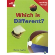 Rigby Star Non-fiction Guided Reading Red Level: Which is Different? Teaching Version(Paperback) (9780433047940)