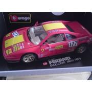 Ferrari 348tb Rouge (1989) 1/18e Burago-Bburago