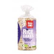 Rondele de orez expandat fara sare bio 100g