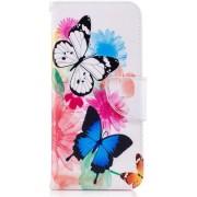 Samsung Galaxy S8 Portemonnee Print Hoesje Butterflies