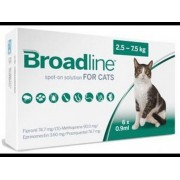 Broadline Spot-On Solution for Cats (Large) 2.5-7.5kg, 6 Pack