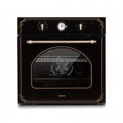 Klarstein Victoria, вградена електрическа фурна, ретро дизайн, 9 функции, 50 - 250 ° C, черно (DSM4-Vilhelmine-OV)