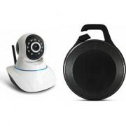 Zemini Wifi CCTV Camera and Clip Bluetooth Speaker for SAMSUNG GALAXY S6(Wifi CCTV Camera with night vision |Clip Bluetooth Speaker)