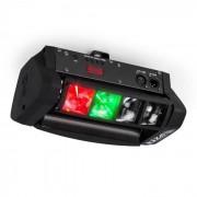 Ibiza LED8-Mini Mini-Spider LED iluminación LED DMX incluye percha de montaje (LED8-MINI)