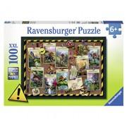 Puzzle Colectia dinozaurilor, 100 piese