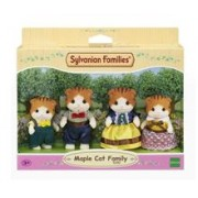Set De Figurine Sylvanian Families Maple Cat Family Figure Set