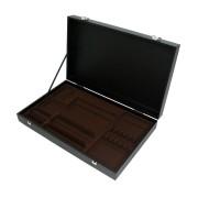 AZ boutique Coffret en bois noir pour ménagère 48 ou 50 pièces - Coffrets & écrins - AZ boutique