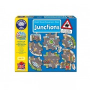 Puzzle gigant de podea Intersectii (10 piese) GIANT ROAD EXPANSION PACK JUNCTION