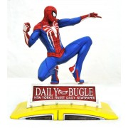Diamond Select Marvel Gallery - PS4 Spider-Man on Taxi