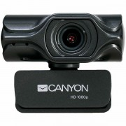CANYON 2k Ultra full HD 3.2Mega webcam with USB2.0 connector, built-in MIC, Manual focus, IC SN5262, Sensor Aptina 0330, viewing angle 80°, with tripod, cable length 2.0m, Grey, 61.1*47.7*63.2mm, 0.18 CNS-CWC6N