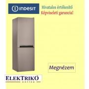 Indesit LI7S1X alulfagyasztós hűtőszekrény , A+ energiaosztály