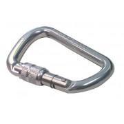 TRACTEL Moschettone Alluminio Con Ghiera M12apertura 24mm Resistenza 23 Kn 92g In Alluminio