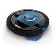 Philips SmartPro Compact Robot Aspirapolvere 0,4 Litri 58 Decibel Nero Blu