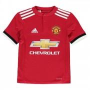 adidas Manchester United Home Shirt 2017 2018 Junior