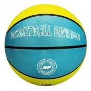 New Port Basketbal Met Print Blauw/Groen Maat 7