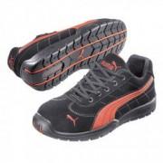 PUMA Chaussures de Sécurité PUMA Moto Protect 64.263.0 Silverstone LOW S1P SRC HRO Noire / Rouge - Taille - 42
