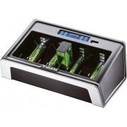 Încărcător acumulatori NiMH Varta LCD Universal, AAA, AA, C, D, 9 V